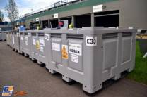 Containers for the Williams F1 Team