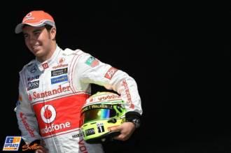 Sergio Pérez, Vodafone McLaren Mercedes