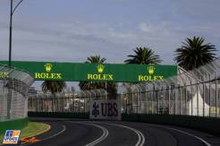 A Turn on the Melbourne Grand Prix Circuit