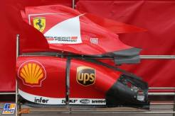Body Work for the Scuderia Ferrari F138