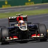 Romain Grosjean, Lotus F1 Team, E21