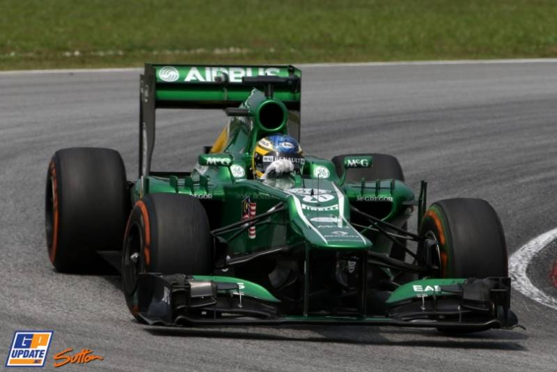 Charles Pic, Caterham F1 Team, CT02