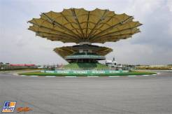 A Corner on Sepang International Circuit