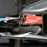 A Detail of the Sauber F1 Team C32