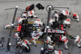 Pit Stop for Sergio Pérez, McLaren Mercedes, MP4-28