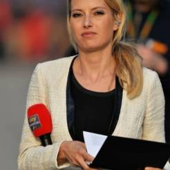 A Girl working for Sky Sport HD