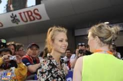 Girlfriend of Fernando Alonso