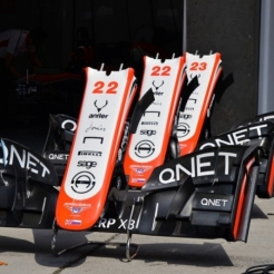 Front Wings for the Marussia F1 Team MR02