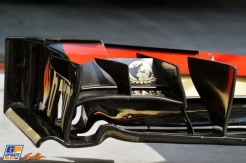 Front Wing End Plate for the Lotus F1 Team E21