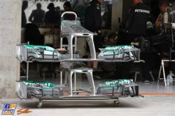 Front Wings for the Mercedes AMG F1 Team F1 W04