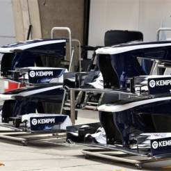 Front Wings for the Williams F1 Team FW35