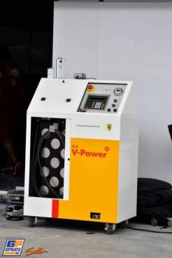 A Fuel Device for Shell V-Power, used by Scuderia Ferrari