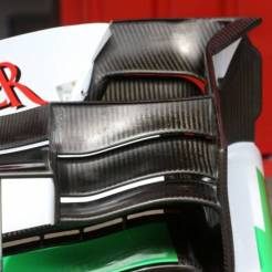 Detail of the Front Wing for the Force India F1 Team VJM06