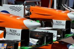 Front Wings for the Force India F1 Team VJM06