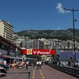 The Pit Lane at the Circuit de Monaco