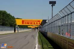 A Straight on the Circuit Gilles Villeneuve
