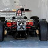 A Stripped Sauber F1 Team C32