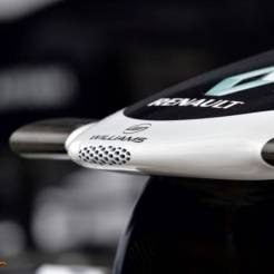 Detail of the Williams F1 Team FW35