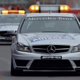 The Mercedes-Benz Safety Cars