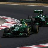 Giedo van der Garde and Charles Pic, Caterham F1 Team, CT03