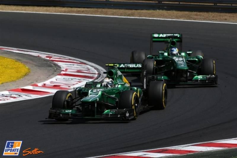 Giedo van der Garde and Charles Pic, Caterham F1 Team, CT03