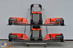 Front Wings for the McLaren Mercedes MP4-28