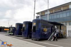 The FIA Trailers in the Paddock