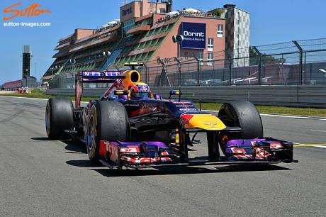 Statistics German Grand Prix of 2013