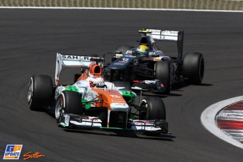 Paul di Resta, Force India F1 Team, VJM06