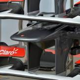 Detail of the Sauber F1 Team C32