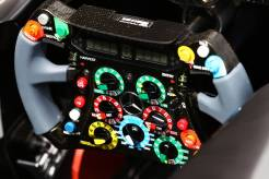 Steering Wheel for the Mercedes AMG F1 Team F1 W04
