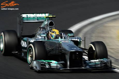 Statistics Hungarian Grand Prix of 2013