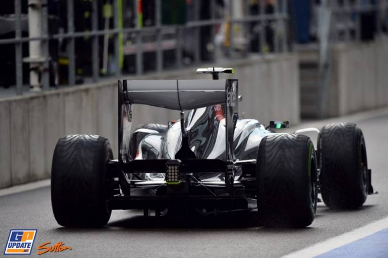 Esteban Guitiérrez, Sauber F1 Team, C32