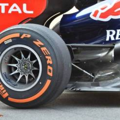 A Detail of the Red Bull Racing RB9