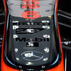 A Detail of the McLaren Mercedes MP4-28