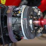 Detail of the Scuderia Ferrari F138