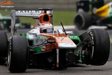 Statistics Italian Grand Prix of 2013