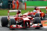 Felipe Massa and Fernando Alonso, Scuderia Ferrari, F138