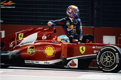 Statistics Singapore Grand Prix of 2013