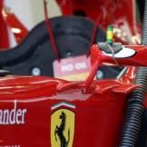 A detail of the Scuderia Ferrari F138