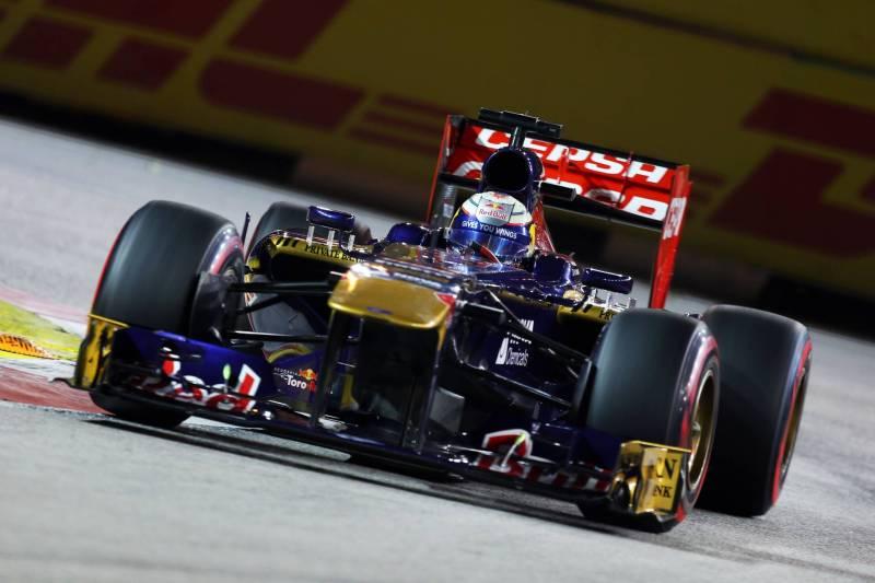 Jean-Eric Vergne, Scuderia Toro Rosso, STR8