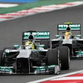 Nico Rosberg and Lewis Hamilton, Mercedes AMG F1 Team, F1 W04