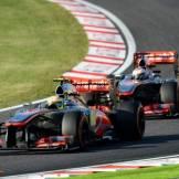Sergio Perez and Jenson Button, McLaren Mercedes, MP4-28