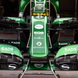 Front Wings for the Caterham F1 Team CT03