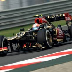 Romain Grosjean, Lotus F1 Team, E21