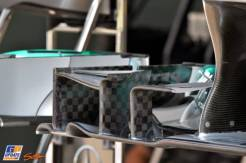 A detail of the Mercedes AMG F1 Team F1 W04