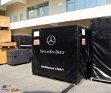 A Sea Shipment Pack for Mercedes-Benz