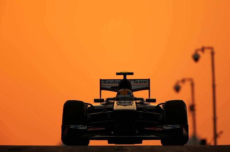 Esteban Gutierrez, Sauber F1 Team, C32