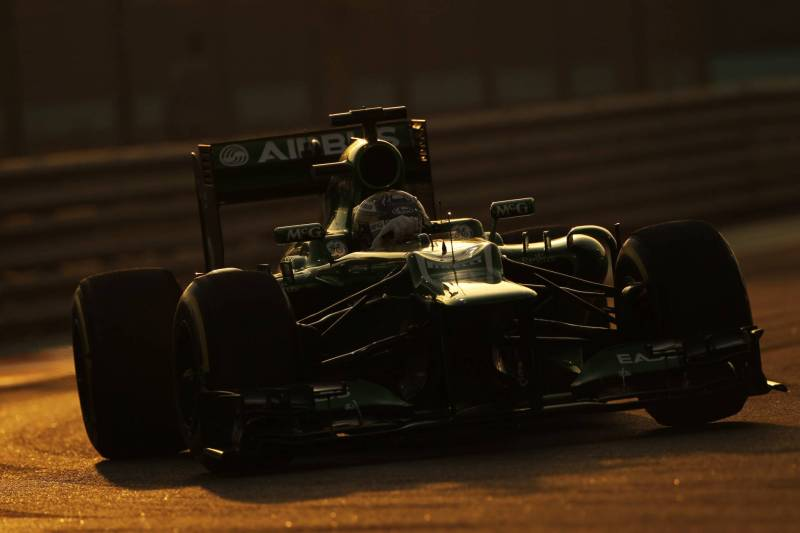Charles Pic, Caterham F1 Team, CT02