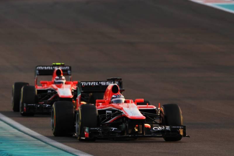 Jules Bianchi and Max Chilton, Marussia F1 Team, MR02
